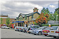 TQ1881 : North Ealing station, entrance Down side by Ben Brooksbank