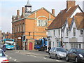 SP7005 : Thame town hall by Sandy Gemmill