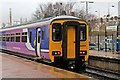 SJ5195 : Northern Rail Class 156, 156489, St. Helens Central railway station by El Pollock