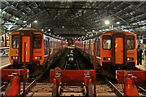 SJ3590 : Northern Rail units, Liverpool Lime Street railway station by El Pollock
