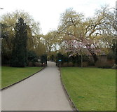 SU1584 : Drove Road entrance to Queen's Park, Swindon by Jaggery