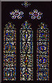 SK9771 : Medieval Stained Glass, Lincoln Cathedral by Julian P Guffogg
