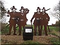 TA3321 : Gunpowder Plot figures by Stephen Craven
