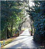 SK1583 : Losehill Hall, Castleton, Derbys. by David Hallam-Jones