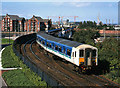 J3473 : 450-class set approaching Central Station - 1999 by The Carlisle Kid