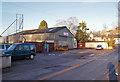 NH7055 : Burnside Garage, Avoch by Richard Dorrell