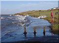 SD4060 : High tide at Half Moon Bay by Ian Taylor