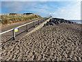 TF5762 : Lagoon Walk on Skegness Beach by Mat Fascione