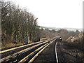 TQ5365 : Rails across Lullingstone Viaduct by Stephen Craven