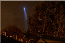 SJ3999 : Police helicopter over Melling by Mike Pennington