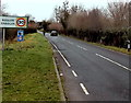 SO4107 : Southern boundary of Raglan by Jaggery