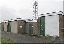 SE0724 : Electricity Substation No 13 - Hopwood Lane by Betty Longbottom