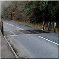 SS7994 : Cattle grid across the B4286 near Pontrhydyfen by Jaggery