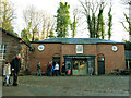SJ8382 : Quarry Bank Mill: ticket and information office by Stephen Craven