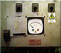J3575 : Control panel on 'Samson', Belfast by Rossographer