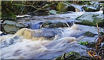 SK2492 : In full flow by dave hudson