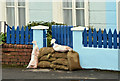 J3979 : Sandbags, Holywood by Albert Bridge