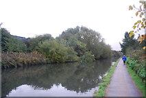 TQ2182 : Grand Union Canal - Paddington Branch and walk by N Chadwick