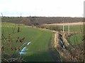 NZ2552 : Farmland at Pelton by Oliver Dixon