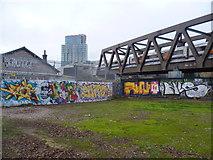 TQ3382 : Street art in Allen Gardens by Marathon