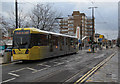 SD9204 : Tram on Union Street, Oldham by Alan Murray-Rust