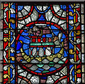 SK9771 : Noah's Ark in Stained Glass, Lincoln Cathedral by J.Hannan-Briggs