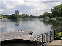 TQ2780 : The Serpentine, Hyde Park by Richard Cooke