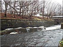 NS5574 : Gavins Mill fish pass by Thomas Nugent