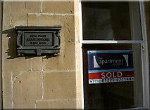 ST7565 : Siddons' plaque by Neil Owen