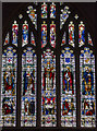 TQ7736 : East Window, St Dunstan's church, Cranbrook by Julian P Guffogg