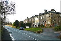 SE0721 : Copperas Row, Rochdale Road, Greetland by Humphrey Bolton