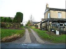 SE0721 : Elland Bridleway 43 at Rochdale Road by Humphrey Bolton
