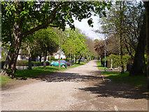 TQ2274 : Putney Park Lane by Robin Webster
