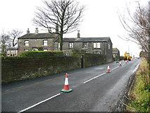 SE0721 : Prospect House and Farm, Turbury Lane, Greetland by Humphrey Bolton