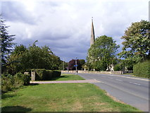 TF1505 : High Street, Glinton, and St. Benedict's Church by Paul Bryan