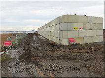 TA0623 : Footpath Closed by David Wright