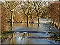 TQ0566 : Mead Road, Chertsey by Alan Hunt