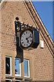 SK6646 : Lowdham Old School Clock by Joy Newbould