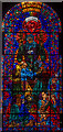 TR1557 : Peace, Stained Glass Window, Canterbury Cathedral by Julian P Guffogg