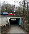 SS8983 : A4063 underpass, Aberkenfig by Jaggery