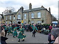 TL2797 : Dancing near the George - Whittlesea Straw Bear Festival 2014 by Richard Humphrey