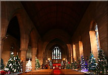 SD1779 : St Georges Church Christmas Tree Festival 2013 by Andy Deacon