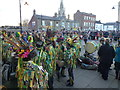 TL2797 : Large crowd on The Market Place - Whittlesea Straw Bear Festival 2014 by Richard Humphrey