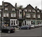 NY3704 : Queens Hotel, Ambleside by Jaggery