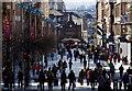 NS5965 : Buchanan Street Glasgow crowds by david cameron photographer