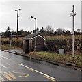 ST4899 : Weather station, Devauden by Jaggery