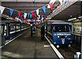 TQ8884 : Southend Pier Trains by Des Blenkinsopp