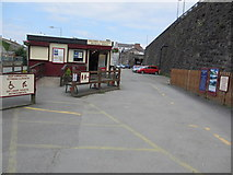 SH4862 : Booking Office, Caernarfon Railway Station by Peter Holmes
