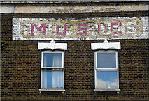 TQ4085 : Ghost sign, Forest Gate by Jim Osley