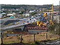 SO1310 : Construction of a new road bridge, Tredegar by Robin Drayton